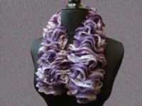 Fast, Fun Ruffled Scarf Tutorial for Machine Knitting