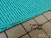 Crisp Rolled Edge Tutorial for Machine Knitting