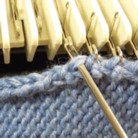 Seaming Stitches to Rows Tutorial for Machine Knitting