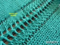 Show off Seams Tutorial for Machine Knitting