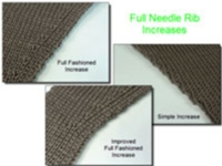Full Needle Rib Increases Tutorial for Machine Knitting