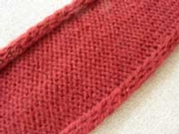 Knit-in I-Cord Tutorial for Machine Knitting