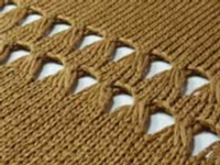 More Elongated Stitches tutorial for Machine Knitting