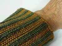Mock Corrugated Ribbing tutorial for Machine Knitting