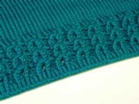 Cable Eyelet Ribbing Tutorial for Machine Knitting