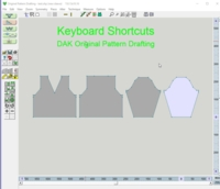 DesignaKnit Keyboard Shortcuts tutorial for Machine Knitting