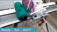 Ready, Set, KNIT! tutorial for Machine Knitting