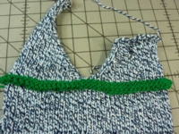 LIfelines: Scrap off Method Tutorial for Machine Knitting
