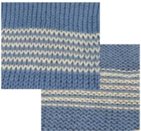 Single Row Stripes with Free Pass tutorial for Machine Knitting