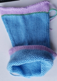 Sleeves in the Round Tutorial for Machine Knitting