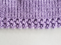 Lacy Ribber Hem Tutorial for Machine Knitting