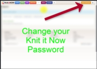 Change your Email and Password Tutorial for Machine Knitting