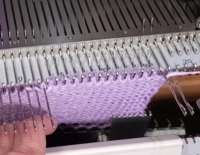 Toes and Heels - Manual Wrap Tutorial for Machine Knitting