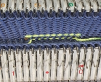 Provisional Knitting Tutorial for Machine Knitting