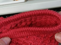 Reversible Band Tutorial for Machine Knitting