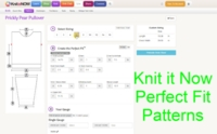 Building Knit it Now Custom Patterns Tutorial for Machine Knitting