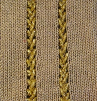 Eyelet Insert tutorial for Machine Knitting