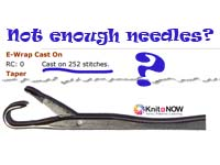 Not Enough Needles? Knit In Now Series