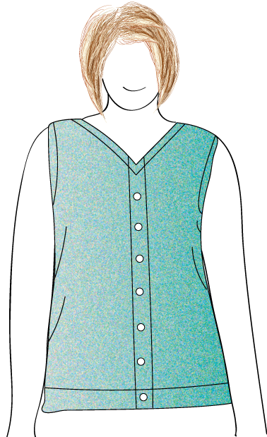 Plus Vests Knit In Now Patterns