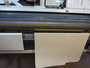 knitting machine ribber cover