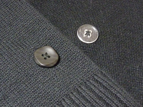 buttons on Knits