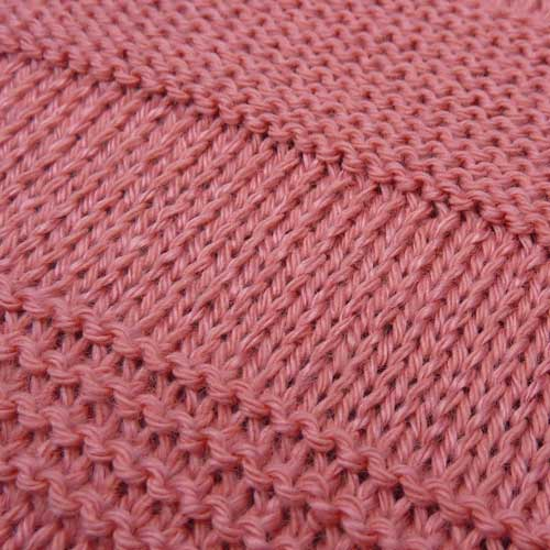 Knitting Patterns For Beginners Garter Stitch : 8 Ways to work Garter Stitch on the Knitting Machine - Knit it Now