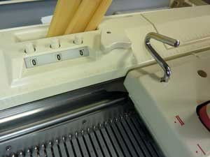 knitting machine row counter