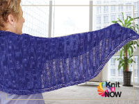 Butterfly Shawl - Quick win