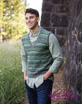 Makin Waves Vest | You Can Knit This On Your Knitting Machine