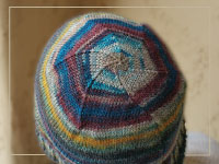 Swirl Top Beanie Project