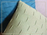 Pintuck Square  Pillow - Quick win