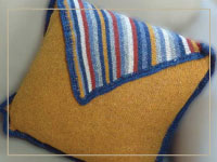 Diagonal Pillow Project