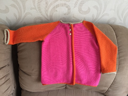 2 Hour Infant Cardigan