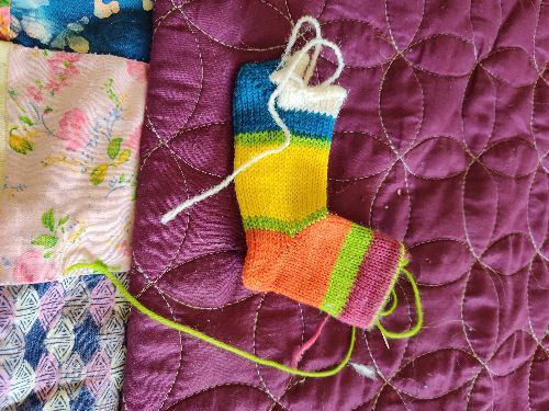 Kids Sock with Short Rows