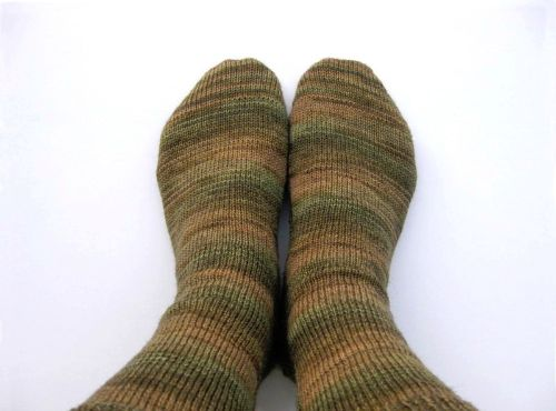Adult Sock with Short Rows