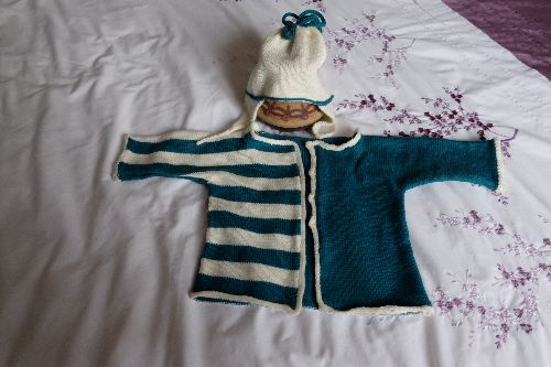 Kids One Piece Chipmunk Cardi