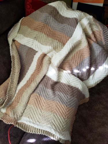 Right Angles Blanket