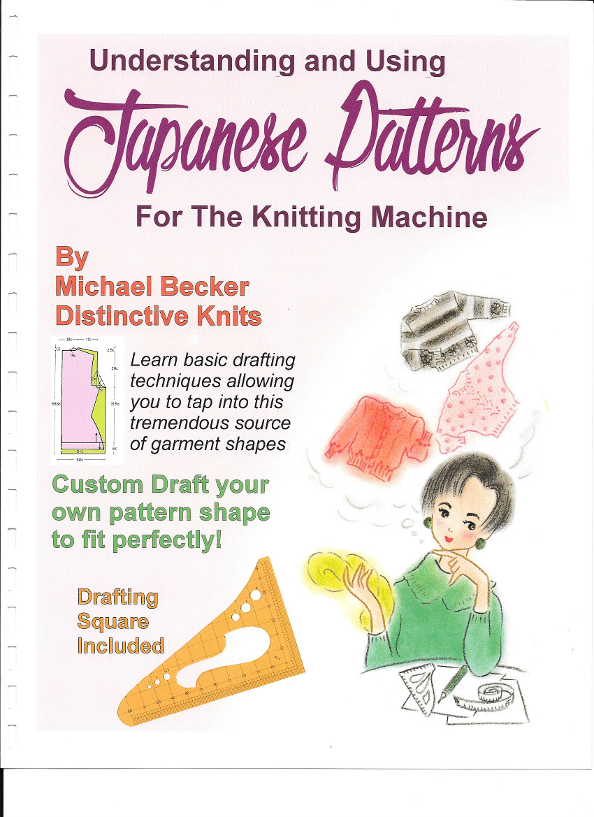Understanding and Using Japanese Patterns for the Knitting Machine by Distinctive Knit
