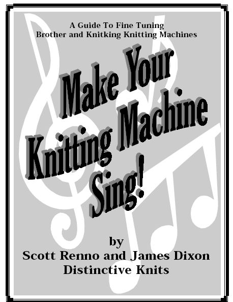 Make Your Knitting Machine Sing by Distinctive Knit