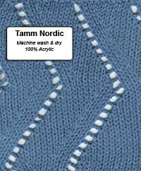 Tamm Nordic (Worsted Weight) by Knit Knack Shop