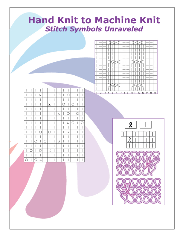 Hand Knit to Machine Knit - Stitch Symbols Unravelled by Knit it Now eBook