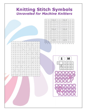 Stitch Symbols Unraveled for Machine Knitters by Knit it Now eBook