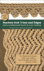 Machine Knitting Trims and Edges - Double Bed (PDF)