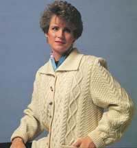 Traditional Irish Cardigans with G-Carriage