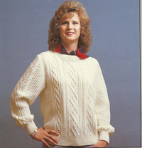 Traditional Irish Knits with G-Carriage (Pullovers)