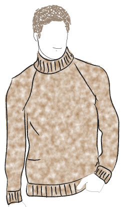 Top Down Raglan - Bulky - Round Neck - Grownups by Knit it Now eBook