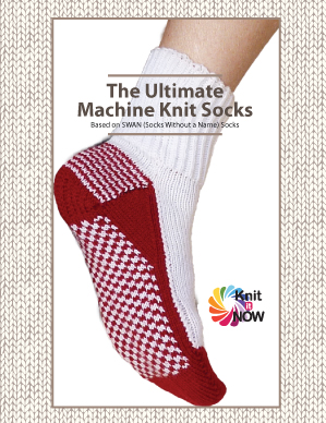 The ULTIMATE Machine Knit Socks (printed)