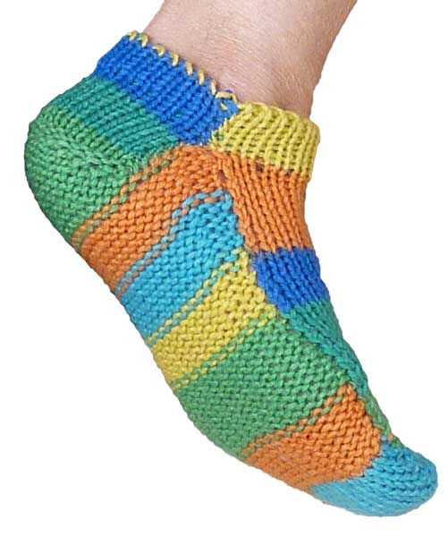 The ULTIMATE Machine Knit Socks (printed) by Knit it Now