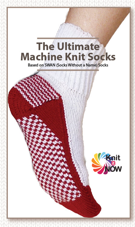 The ULTIMATE Machine Knit Socks (eBook)
