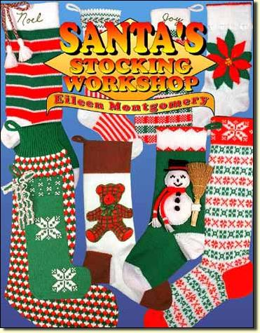 Santa's Stocking Workshop by Eileen Montgomery